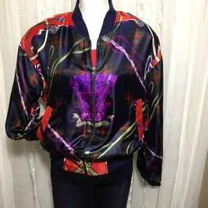 Vintage 80s – 90s bright design jacket